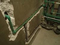 перенос труб на кухне Хабаровск